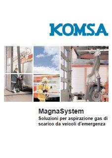 14-Catalogo-Magna-System Aspirazione gas di scarico Veicoli di Emergenza