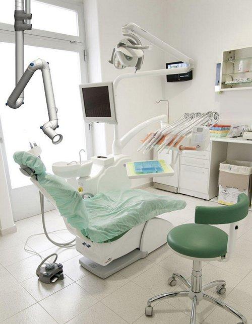 Komsa aspiratore-aerosol-dentisti