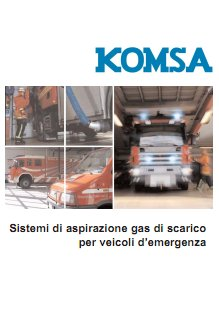 14-Catalogo Aspirazione gas di scarico Veicoli di Emergenza